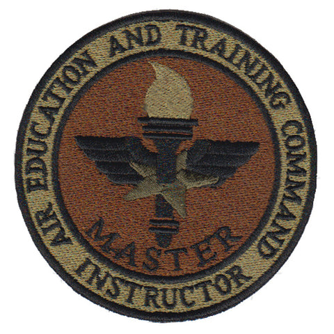 Image of AETC Instructor Spice Brown OCP Patch - 2 Pack