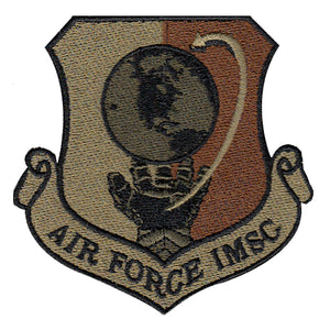 Air Force IMSC Spice Brown Patch - 2 Pack