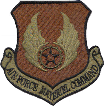 Air Force Materiel Command (AFMC) Majcom Spice Brown OCP Patch - 2 Pack