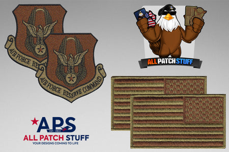 Air Force Reserve Command (AFRC) / US Flag OCP Patch Bundle