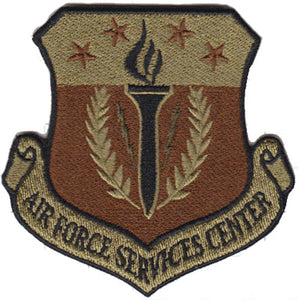 Air Force Service Center OCP Spice Brown Patch - 2 Pack
