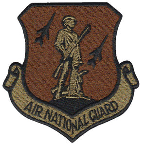 AF National Guard (ANG) Spice Brown OCP Patch - 2 Pack