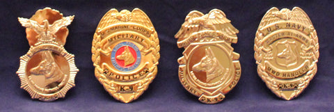 Image of Navy MA K-9 Badge / Coin