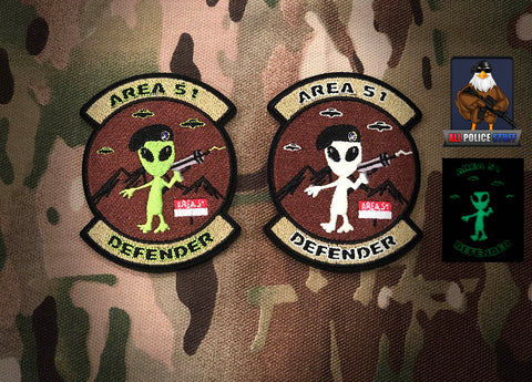 Area 51 Defender Night (Glow in the dark) and Day - 2 Pack