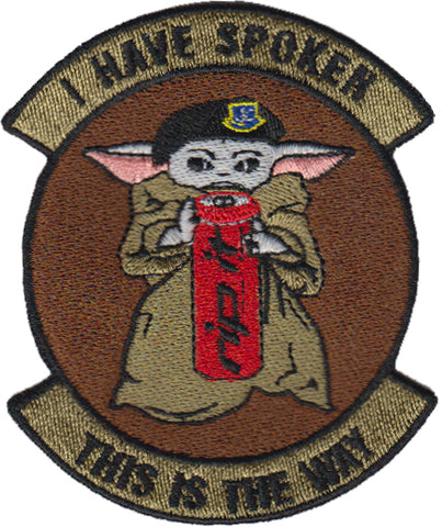 BABY YODA GLOW IN THE DARK PATCH