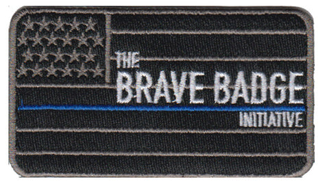 Brave Badge 2 Pack Combo - Black TBL Flag and #StayBrave