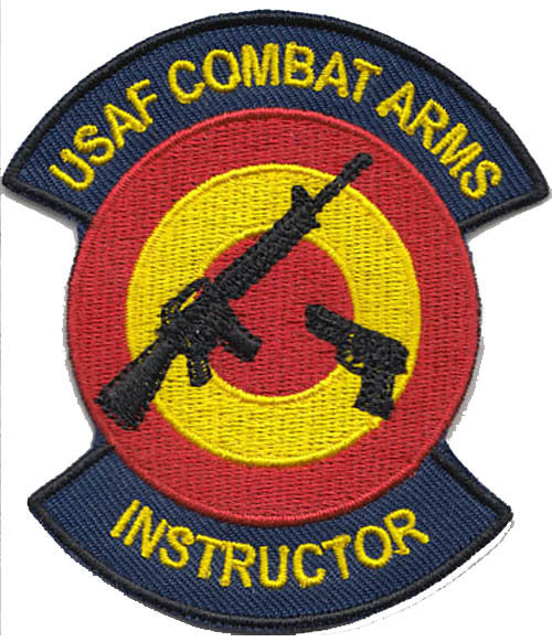 Security Forces Combat Arms (CATM) Patch - 2 Pack