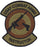 Security Forces Combat Arms (CATM) Spice Brown Patch - 2 Pack