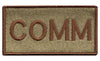 COMM Custom Shoulder Multicam/OCP Patch - 2 Pack