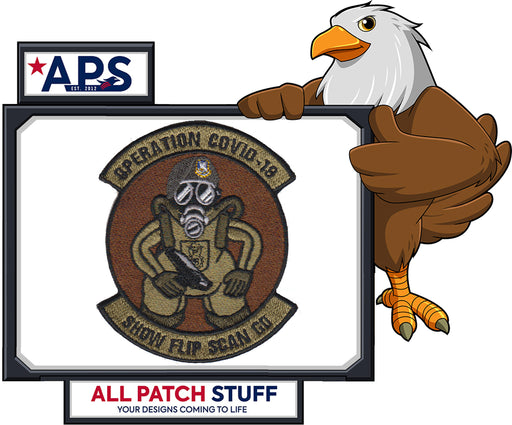 * * * PRE ORDER Security Forces Operation COVID Patch * * *