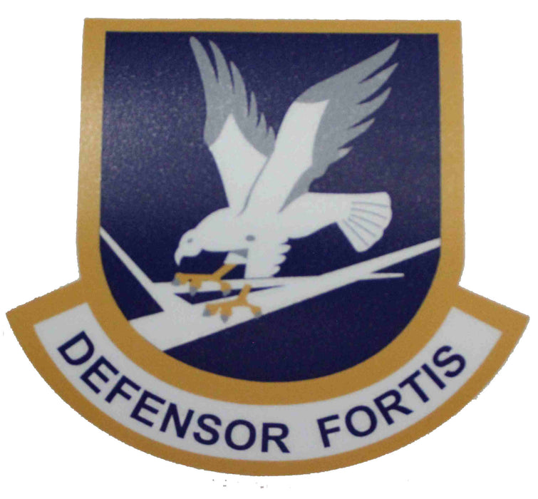 Security Forces Defensor Fortis Shield Sticker