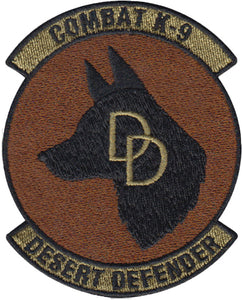 Desert Defender K9 -Spice Brown / OCP Patch - 2 Pack