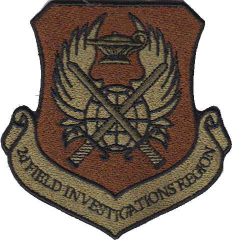 2d Field Investigations Region (OSI) OCP Spice Brown Patch - 2 Pack