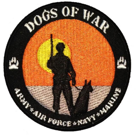 Dogs of War Patch - 2 Pack