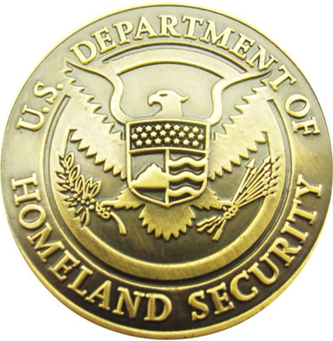 FEMA K9 Challenge Coin - Department of Homeland Security