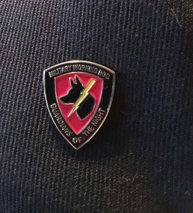 Guardians of the Night Lapel Pin