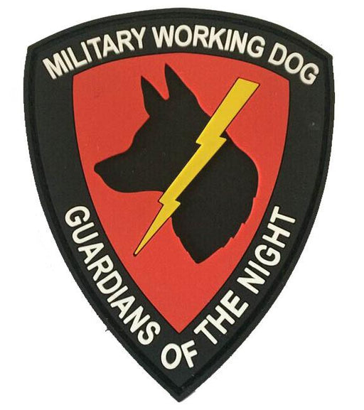 Guardians of the Night PVC Velcro Patch