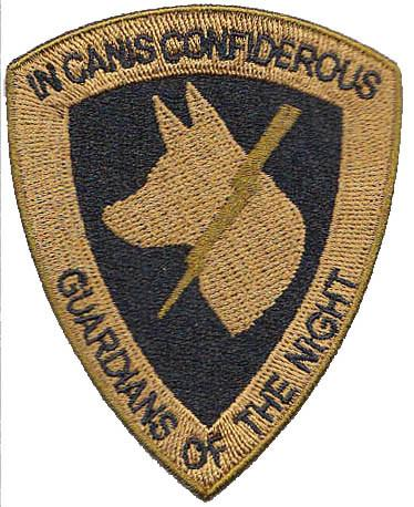 Image of Guardians of the Night Patch - Copper Brown