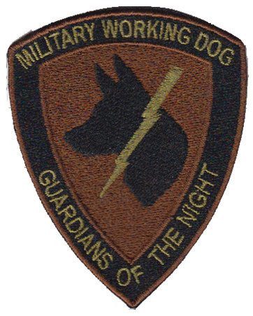 K-9 Guardians of the Night (GOTN) Spice Brown Multicam/OCP Velcro Patch - 2 Pack