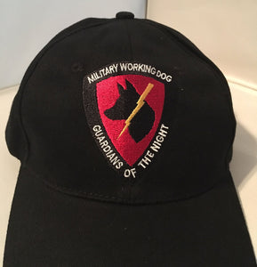 Guardians of the Night Cap / Hat - K9 Black