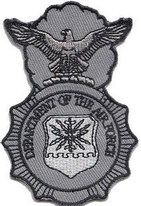 Security Forces Badge - Grey Patch 2 Pack