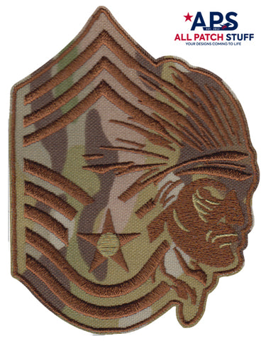 USAF Chief Master Sgt (CMSgt) Custom Face Patch