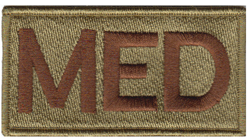 MED (MEDICAL) Shoulder Multicam/OCP Velcro Patch - 2 Pack