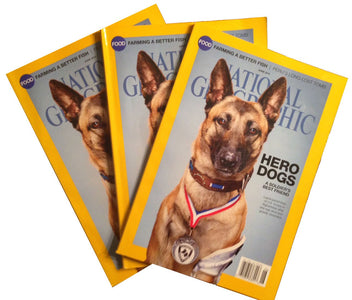National Geographic - June 2014 Hero Dogs - Nat Geo