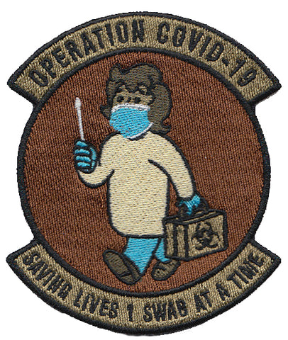 Operation COVID 19 Medical Patch