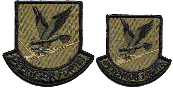 Security Forces OCP Defensor Fortis Multicam Velcro Patch - 2 Pack