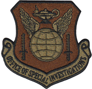 Office of Special Investigation (OSI) OCP Spice Brown Patch - 2 Pack