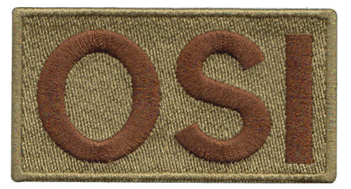 Office of Special Investigations (OSI) Shoulder Multicam/OCP Velcro Patch - 2 Pack