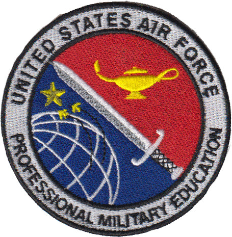 AF Professional Military Education (PME) COLORED Patch - 2 Pack