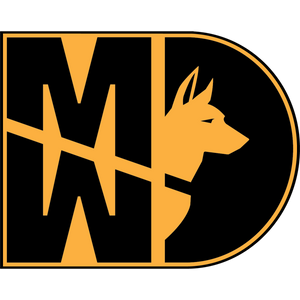 31 Kilo Army MP K9 MWD Sticker
