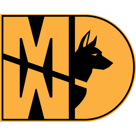 Image of 31 Kilo Army MP K9 MWD Sticker