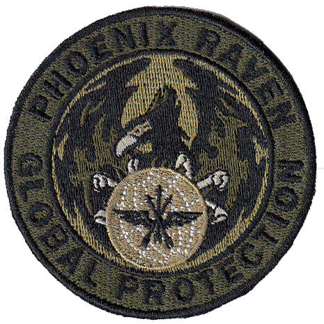 Security Forces Phoenix Raven Patch - 2 Pack