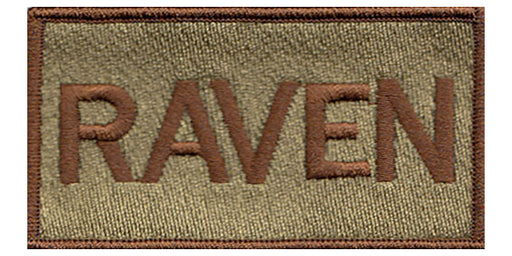 Raven Custom Shoulder Multicam/OCP Velcro Patch - 2 Pack