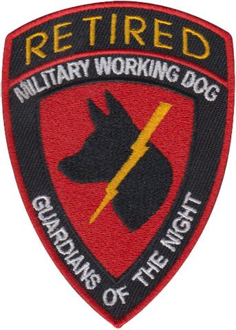 Image of * * * PRE ORDER - Retired MWD Guardians of the Night (GOTN) Patch - 2 Pack