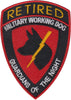 * * * PRE ORDER - Retired MWD Guardians of the Night (GOTN) Patch - 2 Pack
