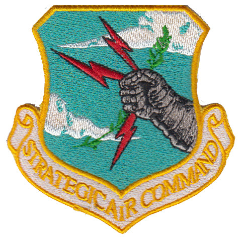 Strategic Air Command (SAC) Colored Replica Patch - 2 Pack