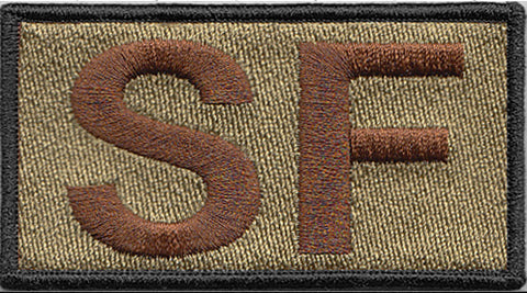 Black Border Security Forces Shoulder SF OCP Patch - 2 Pack