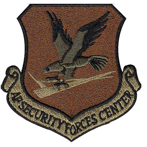 USAF Security Forces Center Spice Brown OCP Patch - 2 Pack