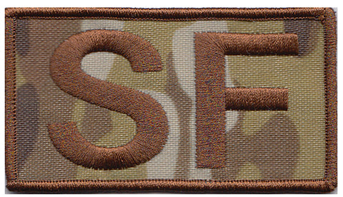 Security Forces OCP BACKGROUND SF Shoulder Patch - 2 Pack