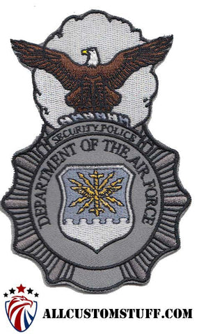 Image of USAF Security Police (SP) Badge Color Patch