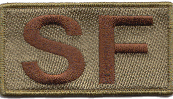 Security Forces Shoulder SF Multicam/OCP Patch - 2 Pack