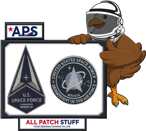 * * * PRE ORDER - US SPACE FORCE PATCH - 2 Pack