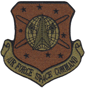 Air Force Space Command Majcom Spice Brown OCP Patch - 2 Pack