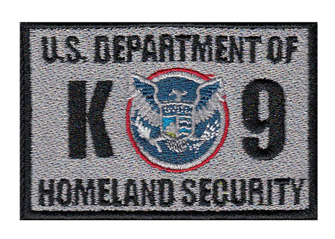 Image of Dept of Homeland Security Patches - 2 Pack