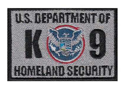 Dept of Homeland Security Patches - 2 Pack
