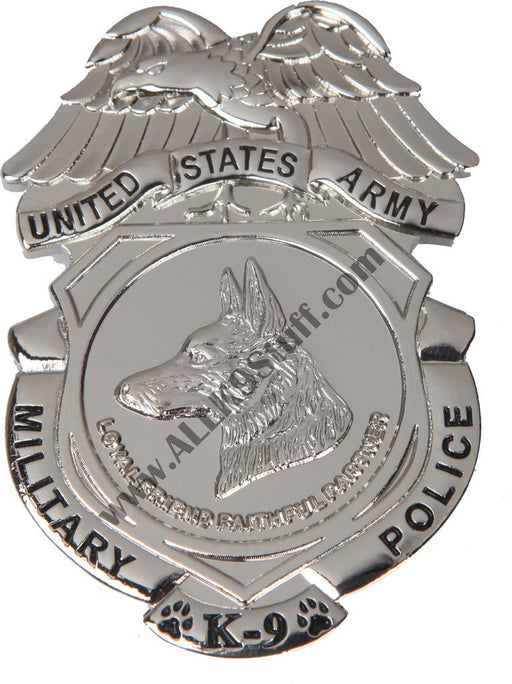 Army MP K9 Badge / Coin